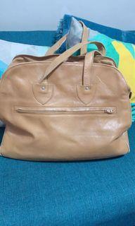 Leather bag unique design