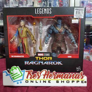 Marvel Legends Thor Ragnarok THE GRANDMASTER / KORG
