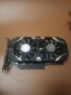 MSI GTX 1050 2G 顯示卡 顯卡 vedio card Graphic card 顯示卡 1050 ti 1060 1030 960 970