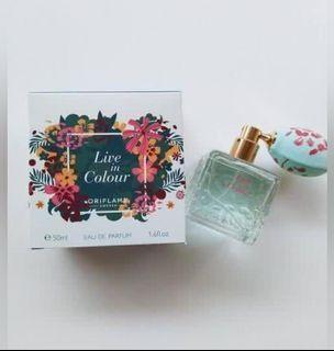 Perfume parfum live in colour edp / parfum oriflame