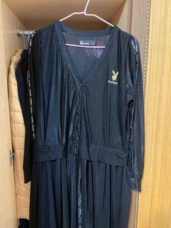 Playboy紗裙長版外套
