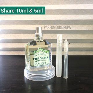 Share Ori L'occitine the vert green tea