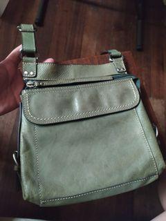 Sling Bag leather fossil brand original
