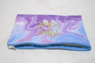 """Small Make Up Pouch """"One of a Kind"""" print"""