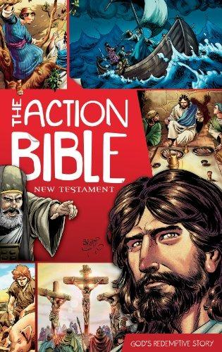 The Action Bible New Testament God's Redemtive Story   OMF Hiyas   Children's Book