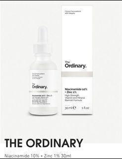 The ordinary 菸鹼胺Niacinamide10%+Zinc1%