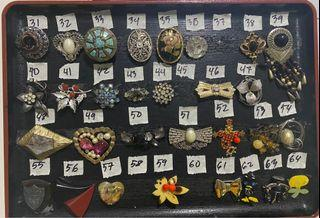 Vintage brooches from Japan