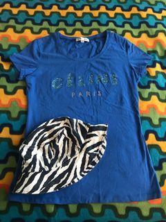 100% Authentic CELINE Paris Tshirt from Japan 🇯🇵