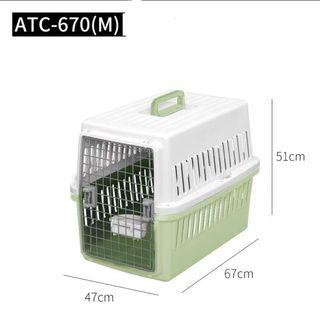 100% new Iris pet carry cage crate