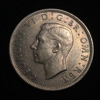 1947 United Kingdom 1/2 Crown - George VI