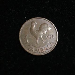 1971 Malawi 1 Tambala