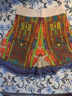 新印花裙褲