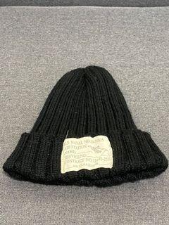 經典款針織毛帽 黑