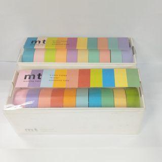 紙膠帶 2組一起售 mt素色明色 舊款+新款