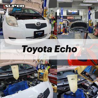 【火炭】豐田 Toyota Echo 更換引擎修復偈油 Motor Oil Change