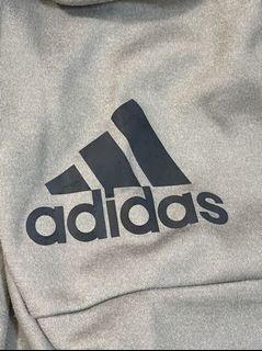 《adidas》機能運動外套 淺灰 女S