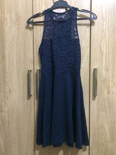 Authentic Hollister Lace Skater Dress