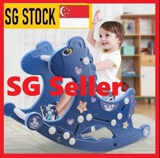 Baby riding horse rocking horse kids ride on toys
