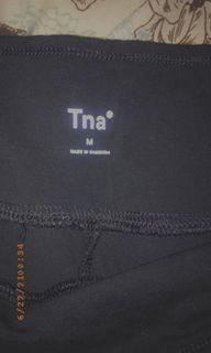 Black Tna biker shorts