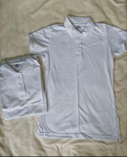 Blue Corner White Polo Shirt