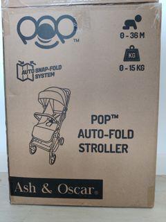 BNIB Ash & Oscar dark blue stroller