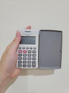 【二手】CASIO 卡西歐 計算機 HL-820LV-WE 國家考試專用機