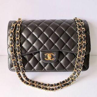 CC Double Flap in Lambskin (Master G - Genuine Leather)