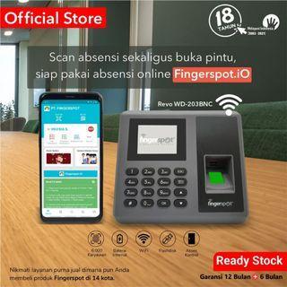 Fingerspot Revo WD-203BNC Mesin Absensi Sidik Jari