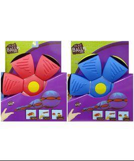 FLAT BALL 飛碟球 UFO球 飛盤魔幻球變形球 飛盤球 魔幻飛碟球FLATBALL