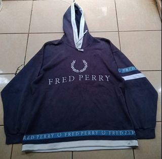 Hoodie Fred Perry Vintage