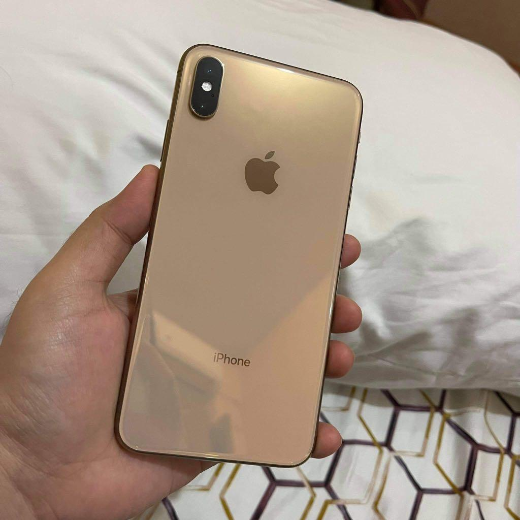 Iphone XS Max Gold 21GB, Mobile Phones & Gadgets, Mobile Phones ...