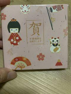 Japanese Pink ☆Thick Quality ☆ money envelopes, Raya Packets, Wedding Money Packets-10 pieces