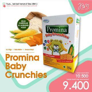 LAGI DISKON!! Promina Baby Crunchies   Snack Bayi 8bln+   Snack Keju