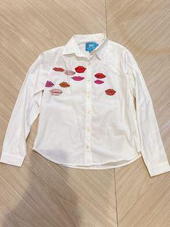 Like New Plains and Prints Longsleeve Button Down limited edition collaboration happy skin XS