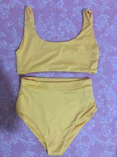 New! Yellow Bikini