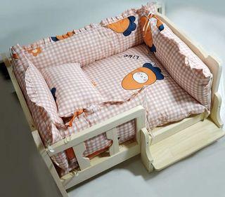 Real Wood Dog bed