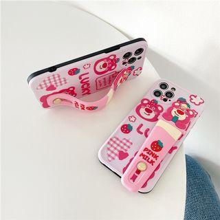 (SH)IPhone殼SE2/7/8/P/XS/R/11/12/Mini/Pro/Max : 勞蘇配腕帶