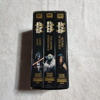 Star Wars VHS Episode 4,5,6 THX New Hope /Empire Strikes Back / Reurn of the jedi.