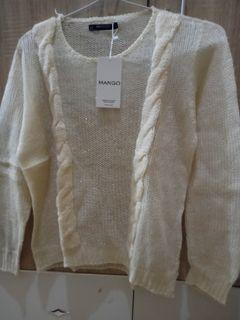Sweater BW kepang mango
