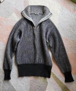 Thomas Meier Halfzip Sweater Jumper