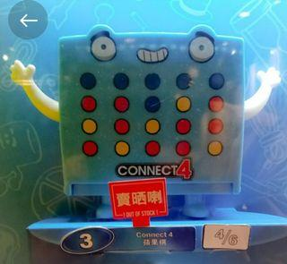全新 麥當勞 McDonald 蘋果棋 Connect 4 開心樂園餐 玩具   Hasbro Gaming