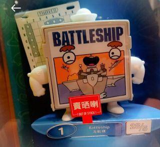 全新 麥當勞 McDonald's  海戰棋 Battleship  開心樂園餐 玩具   Hasbro Gaming