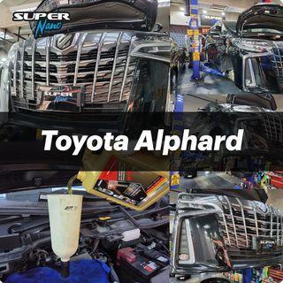 【火炭】豐田 Toyota Alphard 更換引擎修復偈油 Motor Oil Change