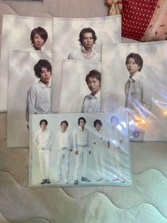 Arashi音樂盒+演唱會資料夾*12