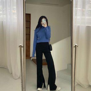 Balibali巨美超級大長腿西褲 黑色S