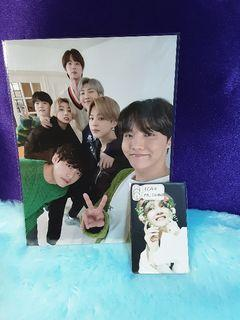 BTS SPECIAL PHOTO POB GIFT BE+BED ALBUM RELEASE