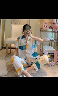 Coloful Cloudy designed pyjamas set
