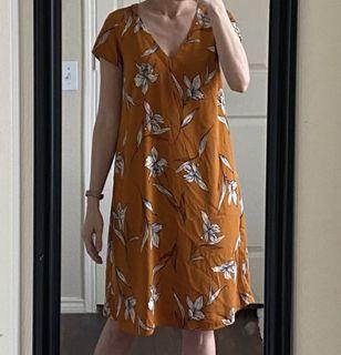 Dorothy Perkins mustard dress