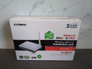 EDIMAX無線網路寬頻分享器