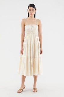 Editor's Market Shirred Maxi Dress